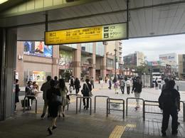 亀有駅南口を出てイトーヨーカドーを左手に直進します